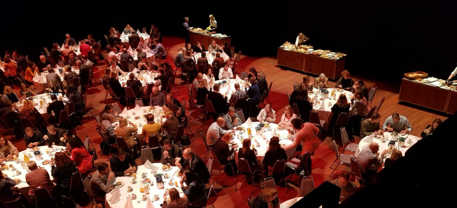 Lunch in Castellum Theater
